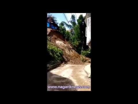 Landslide in Basundhara