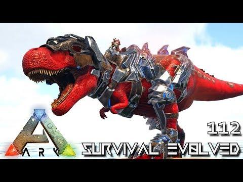 ARK: SURVIVAL EVOLVED - ALPHA TREX BABY & ALPHA DODOREXY !!! E112 (MODDED ARK EXTINCTION CORE) thumbnail
