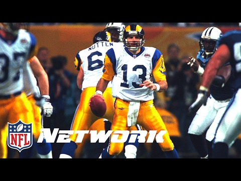Legends of the Super Bowl: Kurt Warner Leads the Rams to a win in Super Bowl XXXIV | NFL Now