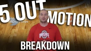 5-Out Motion Offense Basketball   AAU Basketball Offense Breakdown