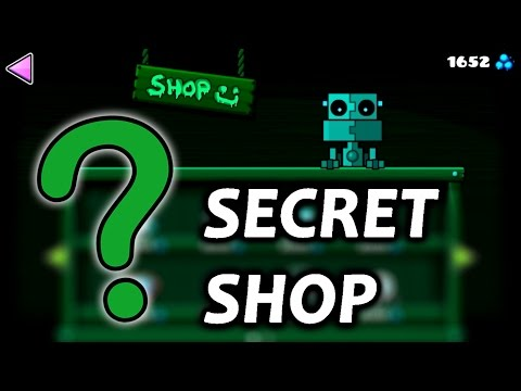 Unlocking The SECRET SHOP And The CHAMBER Of TIME   Geometry Dash 2.1