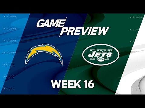 Los Angeles Chargers vs. New York Jets | NFL Week 16 Game Preview | NFL