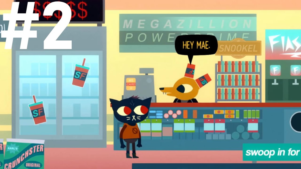 LAPTOP PROBLEMS (Part 2)   Night in the Woods [Blind]