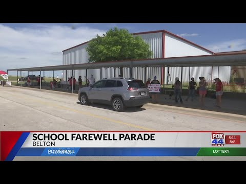 Lake Belton Middle School hosts 'Farewell Parade'