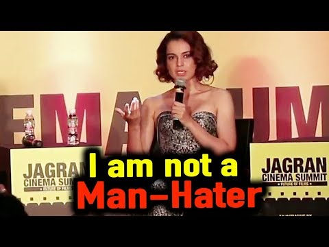 Kangana Ranaut BEST REPLY On Feminism | I am Not A Man-Hater