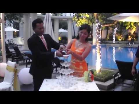 Chityaaung + Sabei wedding dinner @ Park Hotel Cark Quay Singapore