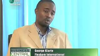 Flexkom Kenya on K24 TV - Mobile Commerce and Loyalty Advertising Rewards Solution