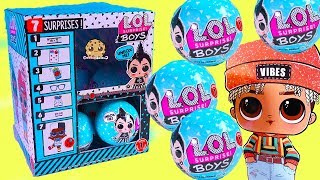 Box Of NEW LOL Surprise BOYS Mystery Blind Bags ! (Almost) Full Set - Video Video