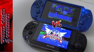Sony PS Vita vs. China Fake Version Wicked Comparison !!