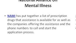 Prescription Drug Assistance Programs