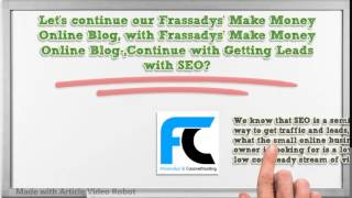 Frassadys' Make Money Online Blog-معلم,Continue with Getting Leads with SEO?