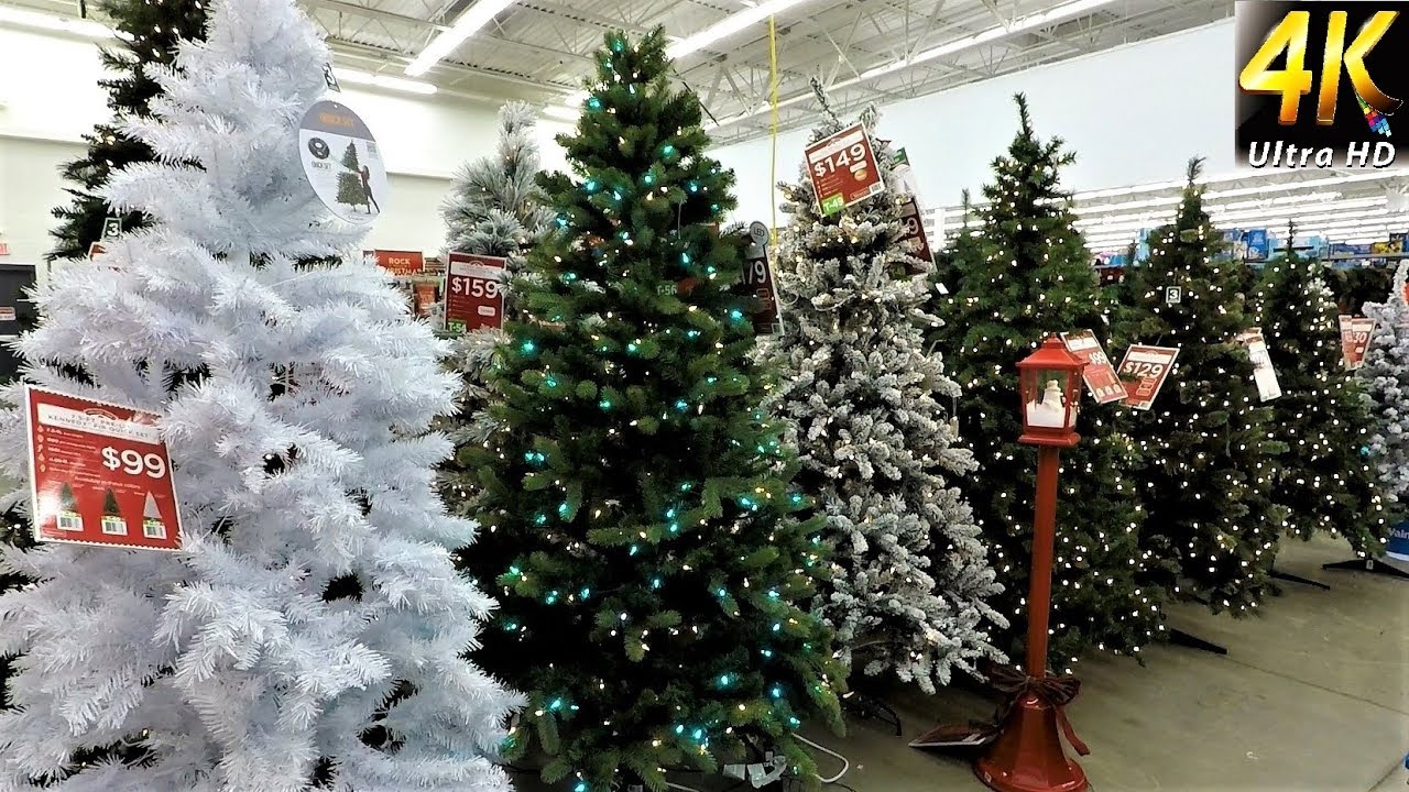 christmas at walmart all christmas trees with prices christmas shopping christmas tree 4k