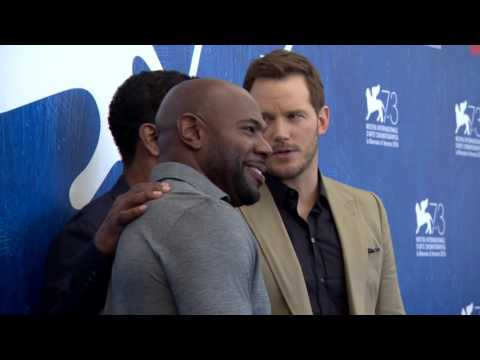 The Magnificent Seven: Denzel, Chris Pratt Photocall at Venice Film Festival