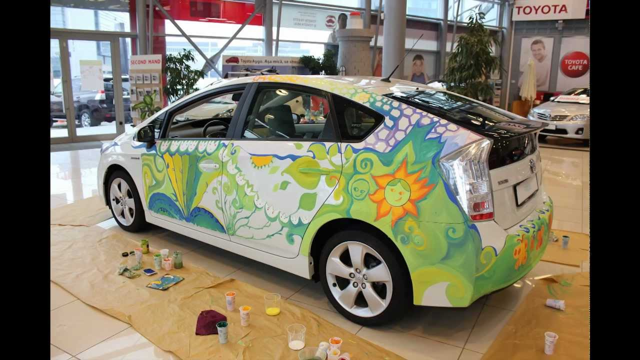 The 6th Toyota Dream Car Art Contest Romania S Children Bring A
