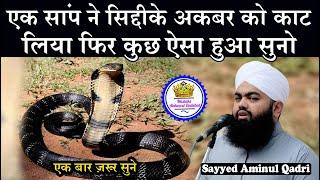 Hazaron Saal Purane Saanp Ne Siddique Akbar Ko Kaat Liye Phir Kya Hua Sayyed Aminul Qadri