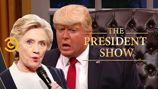 Nice! Not Nice! - Obsessing Over Hillary Clinton - The President Show - Comedy Central