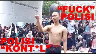 Download Video DEMO MAHASISWA BANDUNG | MAHASISWA GAGAL PRODUK, NGATAIN POLISI MP3 3GP MP4