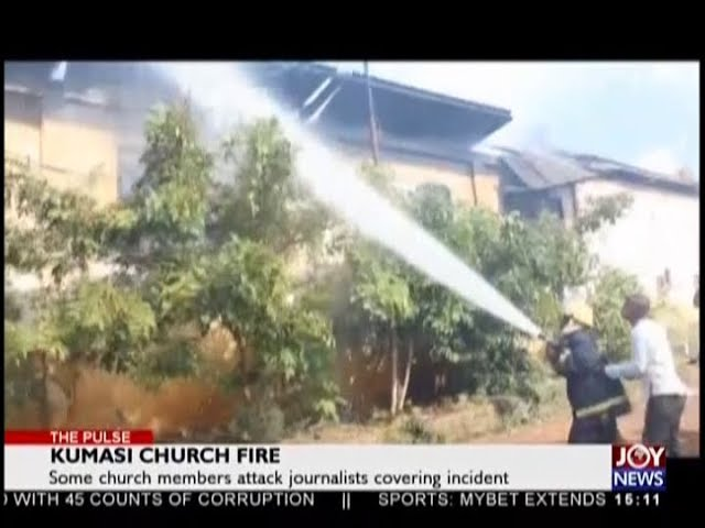 Kumasi Church Fire - The Pulse on JoyNews (19-10-18)