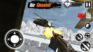 Air Gunner 3D : FPS Army Shooter Helicopter Games - Android GamePlay HD - FPS Shooting Games Android