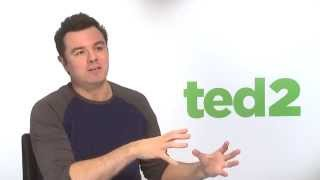 Seth MacFarlane Takes You Backstage with TED 2