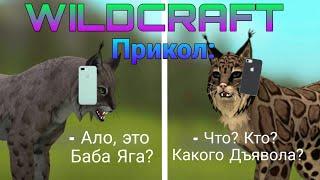 Wildcraft  Прикол  Ало это Баба Яга
