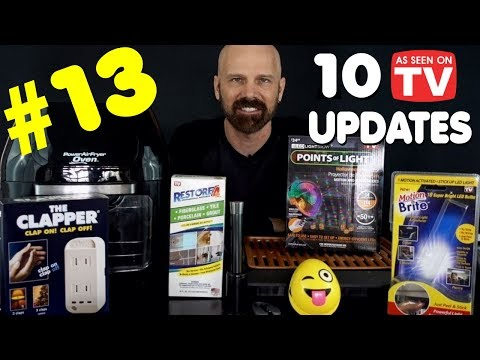 10 As Seen on TV Product Review Updates, Part 13