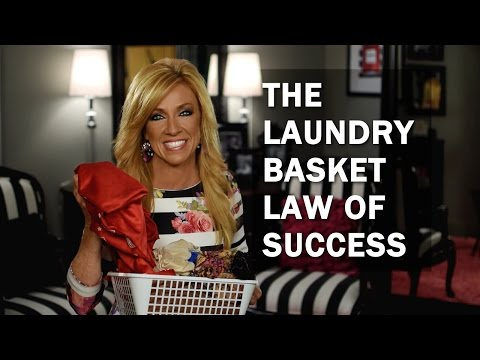The Laundry Basket Law Of Success