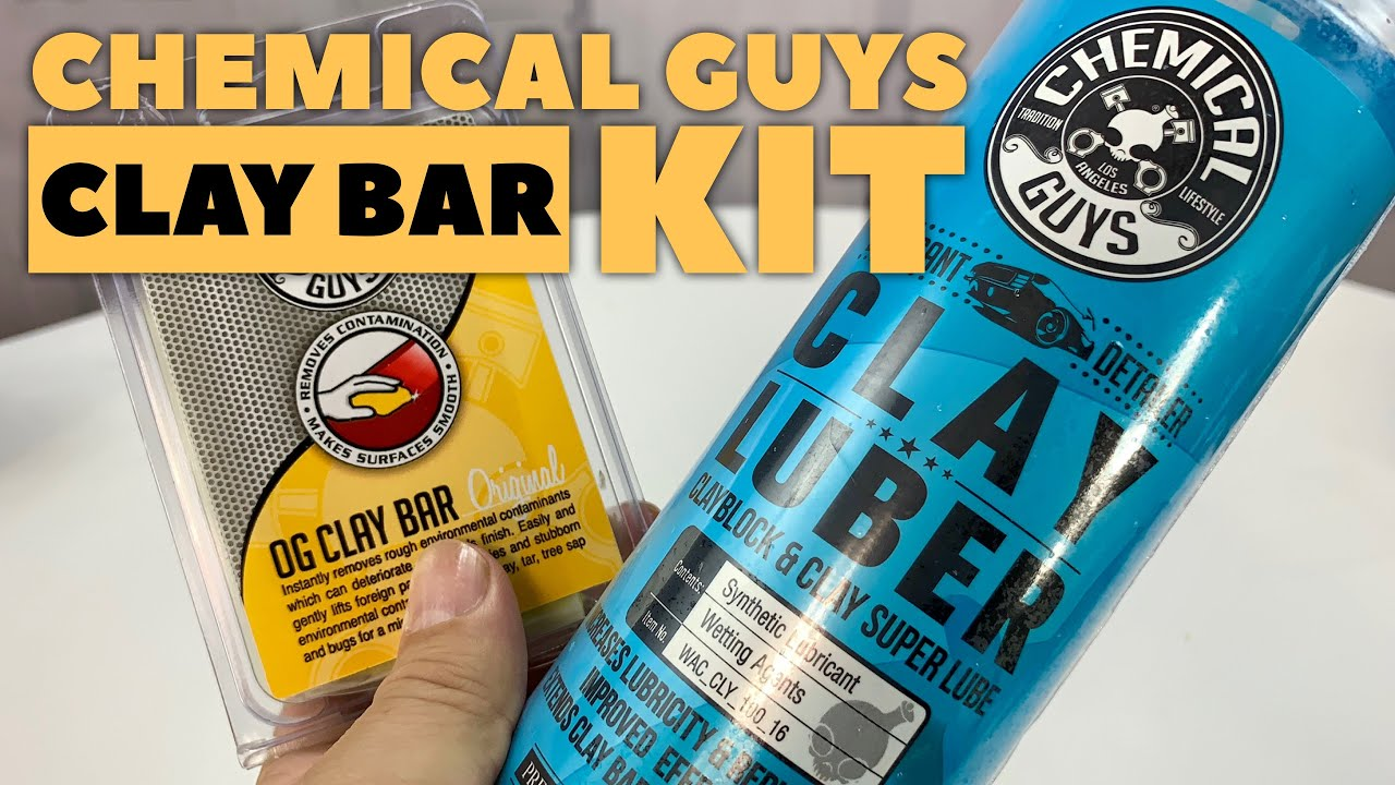 Chemical Guys Clay Bar & Synthetic Lubricant Kit Review
