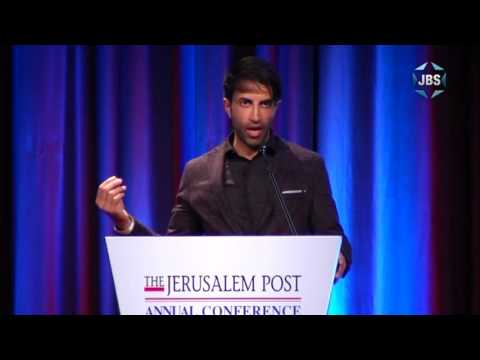 Son of Hamas Commander - full speech @ JPost Conference