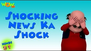 Shocking News Ka Shock - Motu Patlu in Hindi