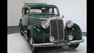 Mercedes Benz 170-SD 1953 -VIDEO- www.ERclassics.com