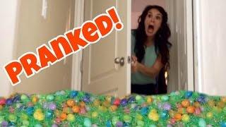 EASTER PRANK Bedroom Makeover TRASHED