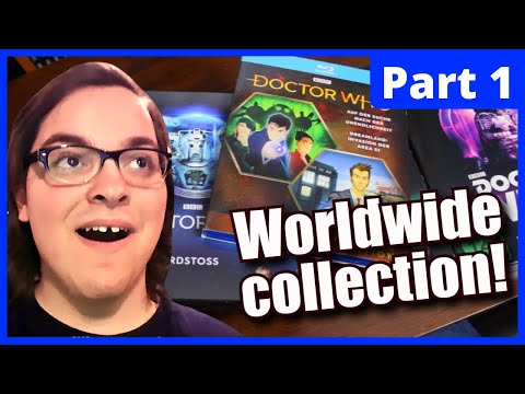 Doctor Who DVD & Blu Ray Collection 2020 (Part 1) German, Dutch, And Australian Releases!