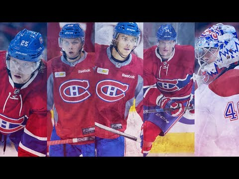 The top prospects in the Habs' farm system