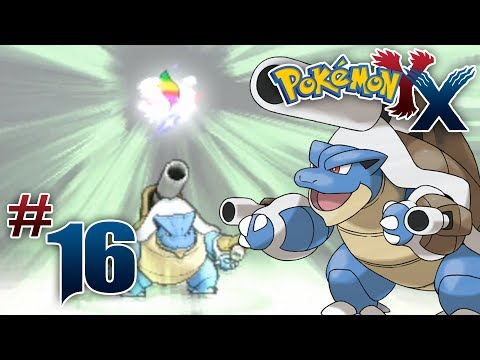 Let's Play Pokemon: X - Part 16 - Kalos Power Plant