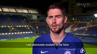 Jorginho First Interview For Chelsea FC