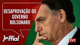 🔴 Desaprovação do governo Bolsonaro – Mortes por agrotóxicos no Seu Jornal 21.05.2019