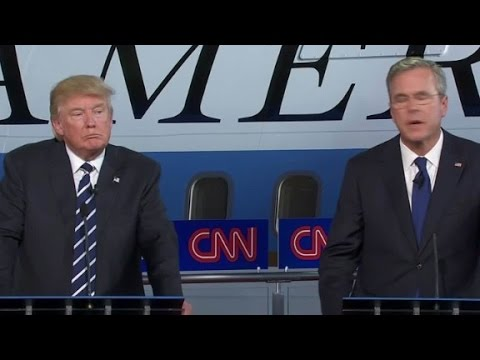 Bush: Trump should apologize to my wife