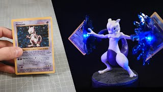 How to Make aฑ Awesome MEWTWO Sculpture / Polymer Clay