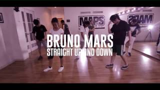 BRUNO MARS - STRAIGHT UP AND DOWN CHOREOGRAPHY | MAPS DANCE SCHOOL