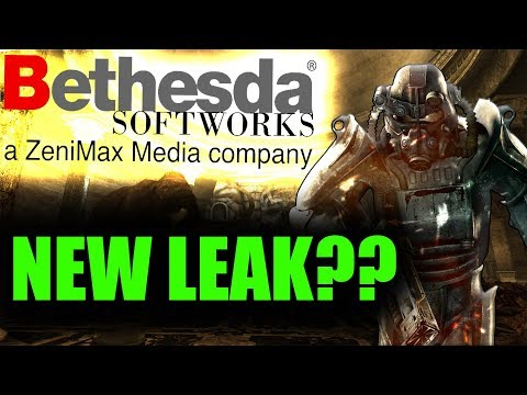 NEW BETHESDA LEAK Remastered Game Or New IP? Both?|E3 2019