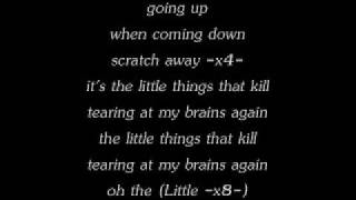 ~Bush-Little.Things-Lyrics~