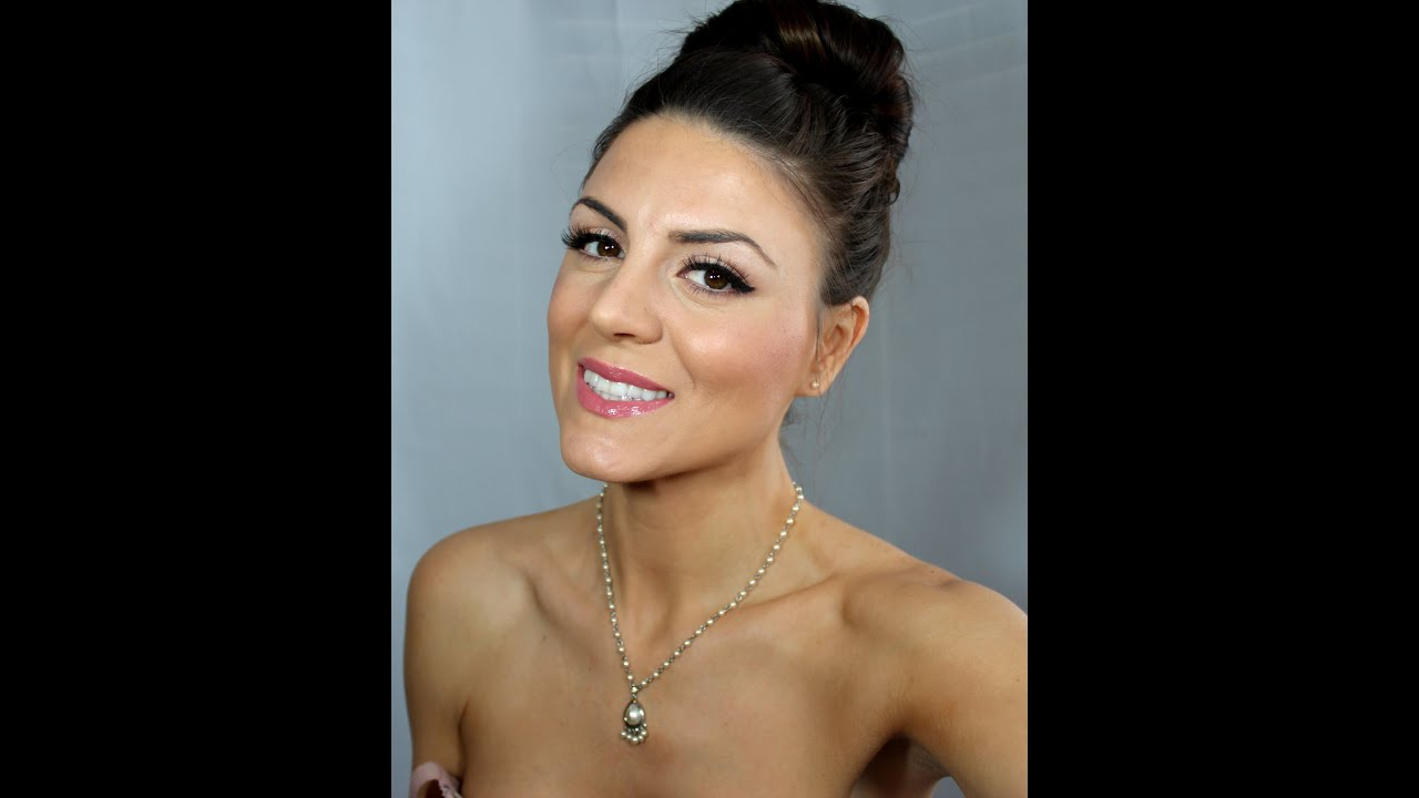 Classic Bridal Makeup- Brunette Beauty Blogger