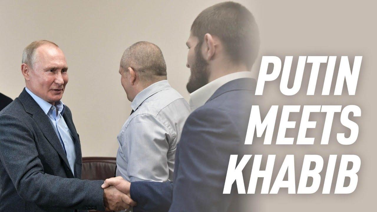 Putin meets with UFC champion Khabib Nurmagomedov