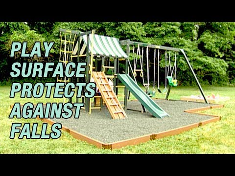 Child's Play Surface That Protects Against Falls