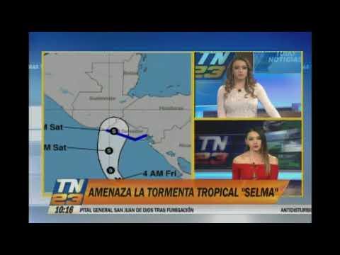 """Tormenta tropical """"Selma"""" amenaza a El Salvador"""