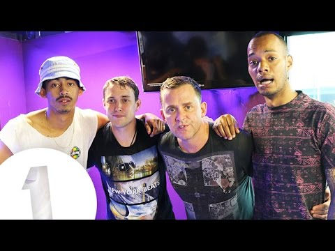Rizzle Kicks play Innuendo Bingo