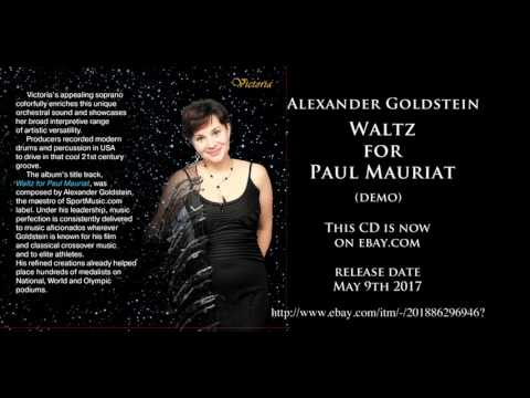 Waltz For Paul Mauriat CD. Alexander Goldstein - Waltz for Paul Mauriat
