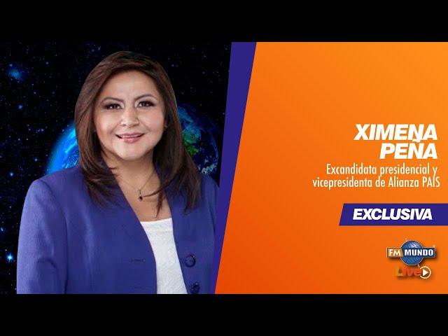Ximena Peña, Miembro ALIANZA PAIS - NotiMundo