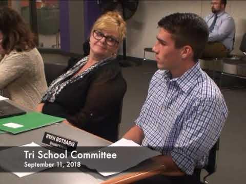 Tri School Committee 09.11.18